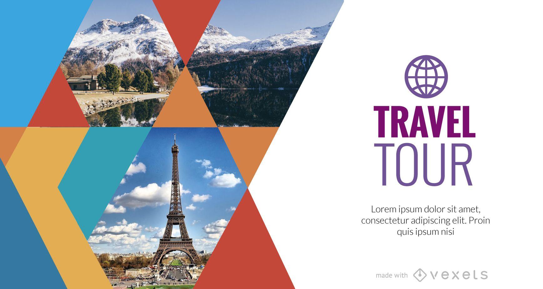Travel promo maker
