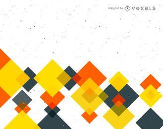 Fondo abstracto con cuadrados coloridos