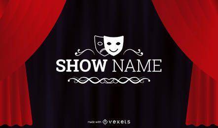 Show de teatro fabricante de folhetos