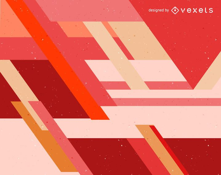 Red and orange abstract background design