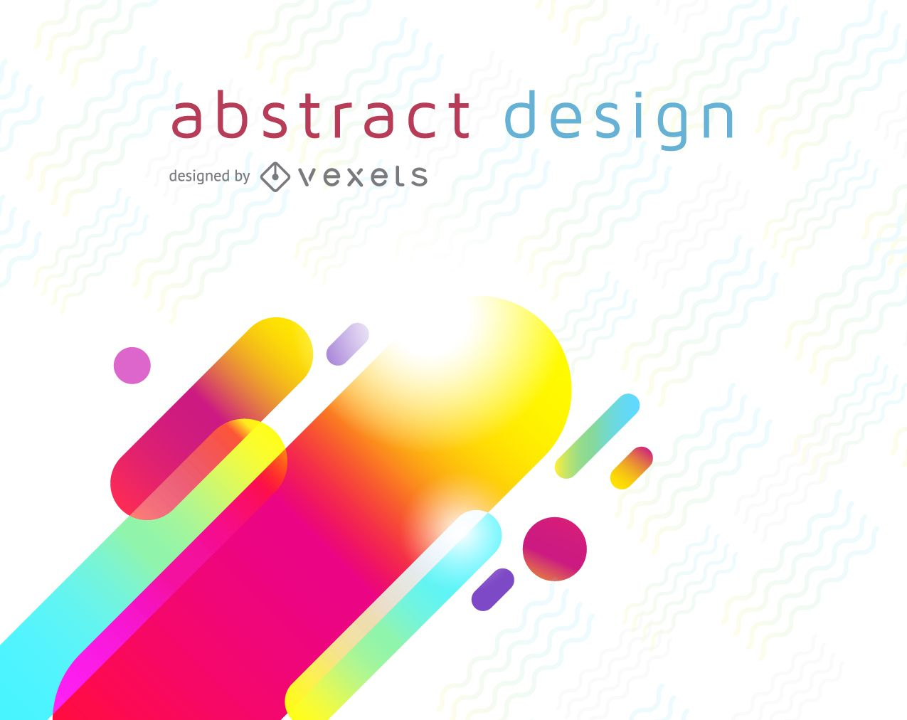 Colorful futuristic background design