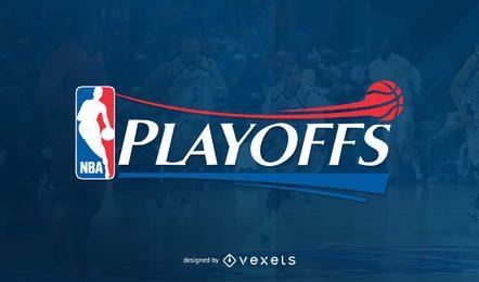 Imagen del encabezado de los playoffs de la NBA