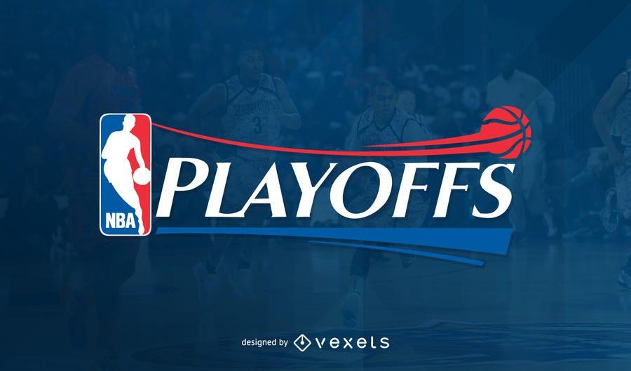 Imagem do cabeçalho da NBA Playoffs