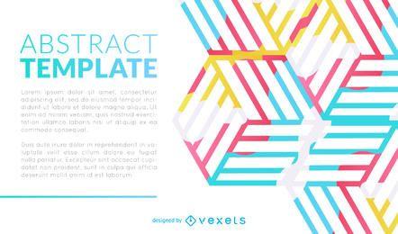 Diseño abstracto del folleto o de la presentación