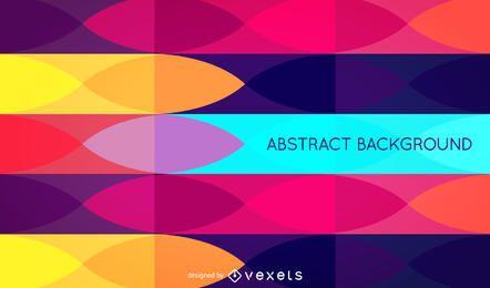 Fondo de patrón retro abstracto