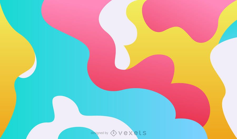Abstract background in soft tones