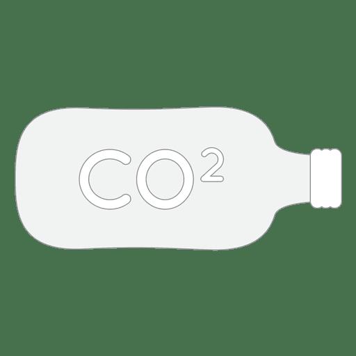Co2 bottle tank icon