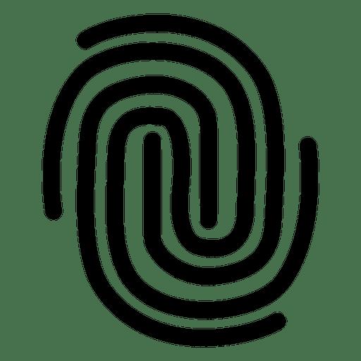 Curso de labirinto de impressão digital Transparent PNG