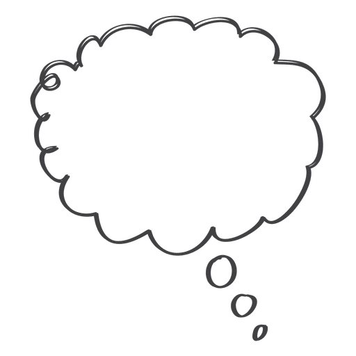 Cartoon comic speech doodle icon
