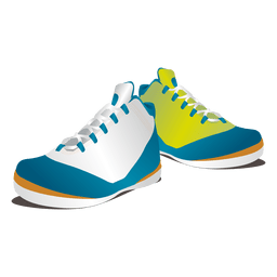 Clothes glossy colored sneakers