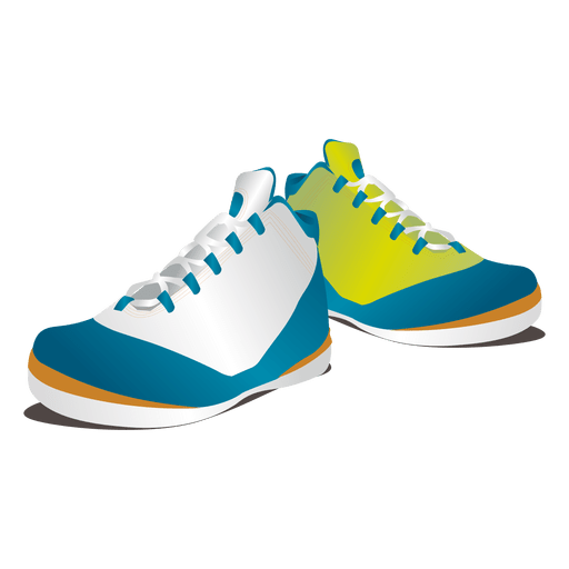 Clothes glossy colored sneakers Transparent PNG