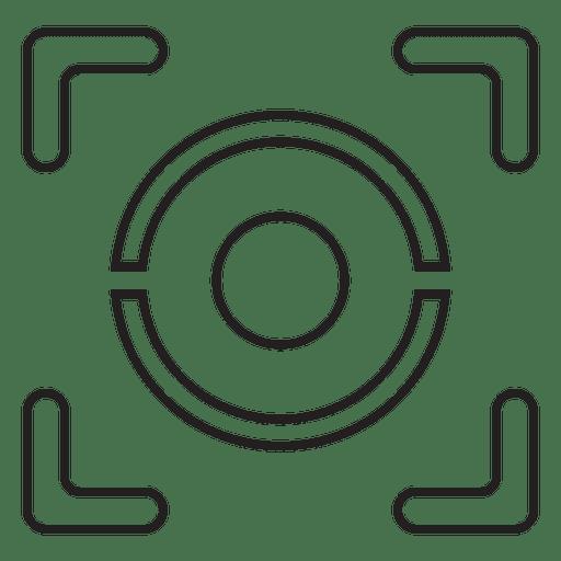Ocular geometrico Transparent PNG