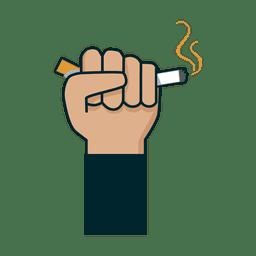 Cigarro com punho