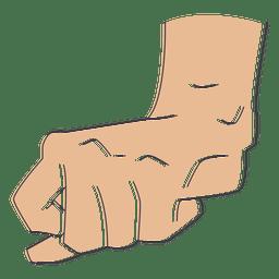 Fist hand fingers