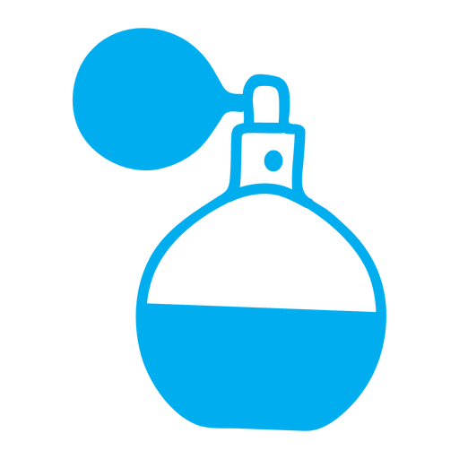 Flat perfume pot Transparent PNG
