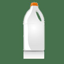 Botella de comida simulada
