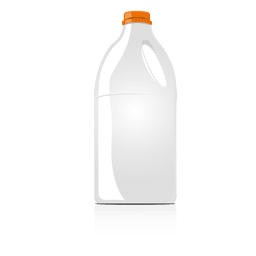 Food bottle mock up