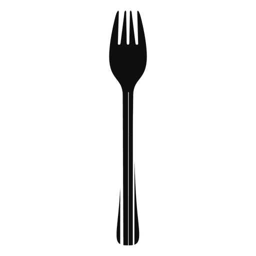 Food codebar fork - Transparent PNG & SVG vector