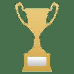 Troféu campeão de ouro