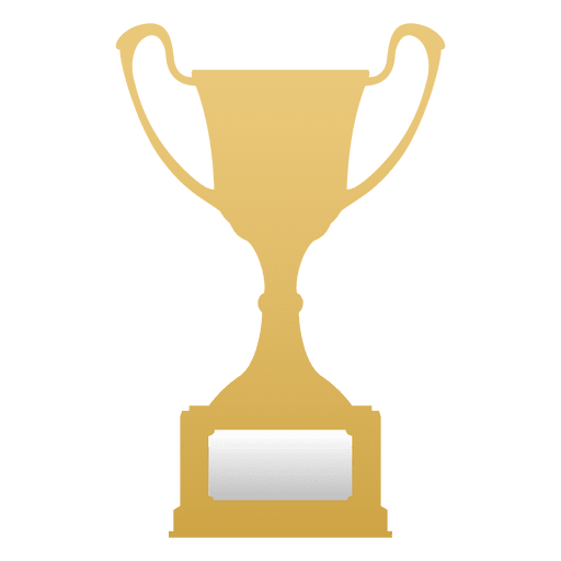 Trofeo de campeón de oro Transparent PNG