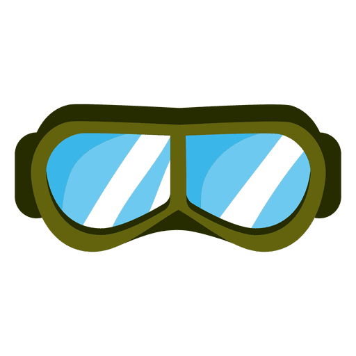 Green paintball mask Transparent PNG