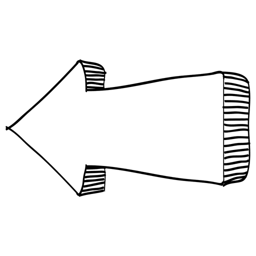 Infographic arrow left direction