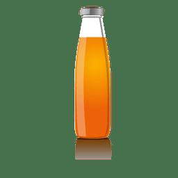 Garrafa de suco simulada
