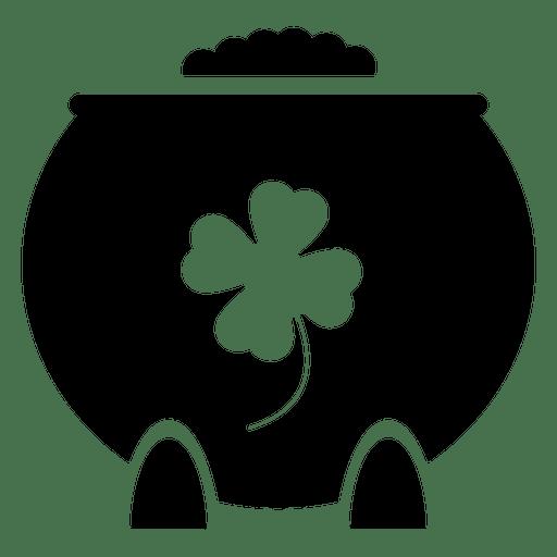 Kobold Gold Pot Transparent PNG