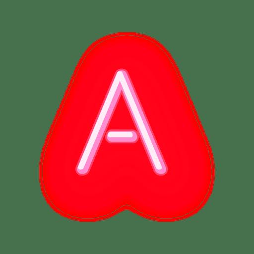 Papel timbrado, vermelho, néon, fonte Transparent PNG