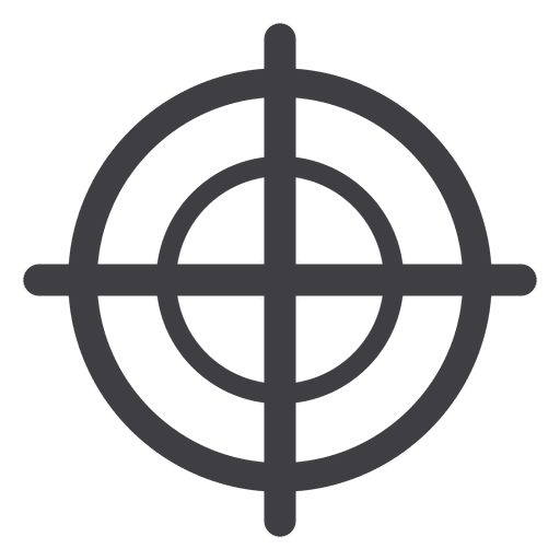 Objective Simple Illustration Transparent PNG