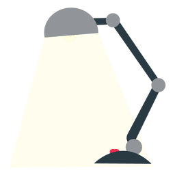 Office flat table lamp