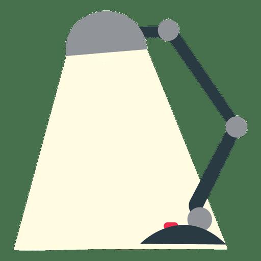 Candeeiro de mesa plano para escritório Transparent PNG