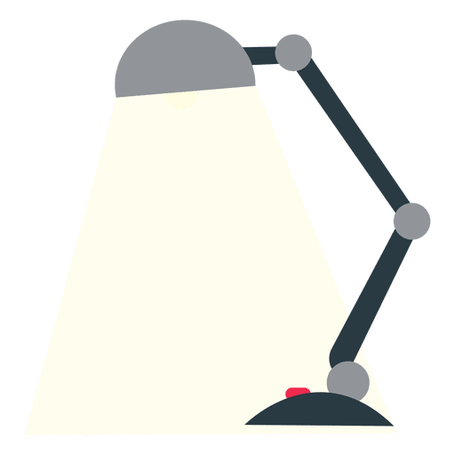 Office Flat Table Lamp Transparent Png Svg Vector