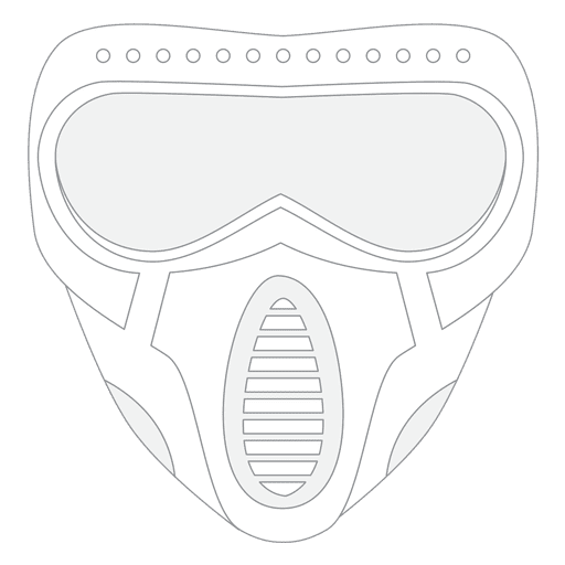 Paintball mask Transparent PNG