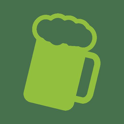 Party green clover mug
