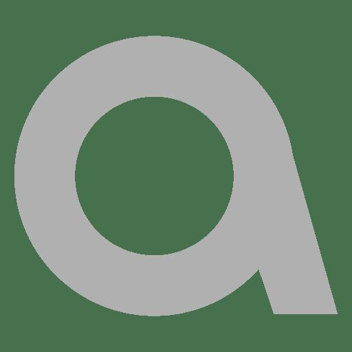 Sans serif a font Transparent PNG