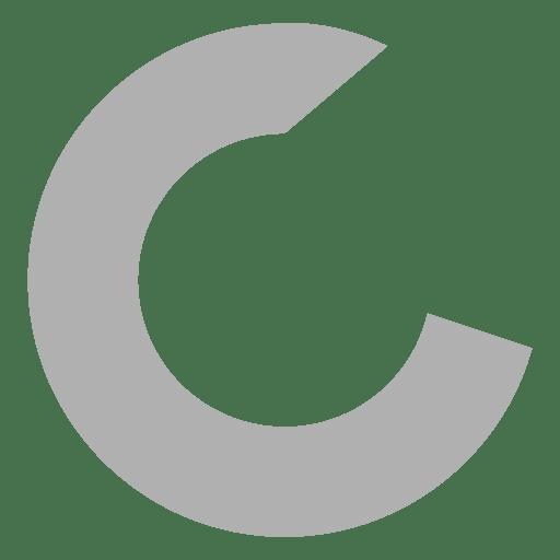 Sans serif c font Transparent PNG