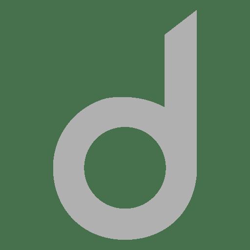 Sans serif d font Transparent PNG