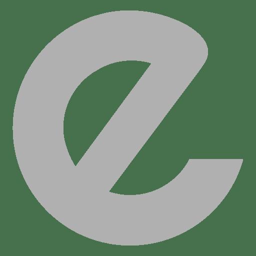 Sans serif e font