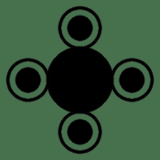 Shape crop circles round shapes