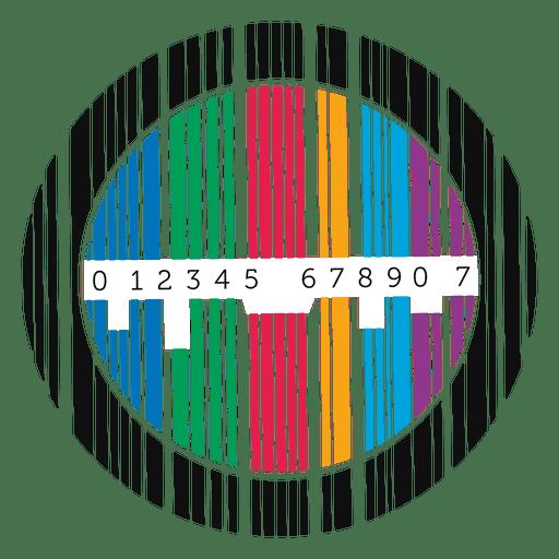 Zeichen Codebar-Platte Transparent PNG