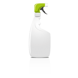 Frasco de spray em branco