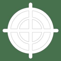 Objetivo alvo simples