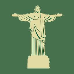 Viagem, christ, a, redentor, brasil