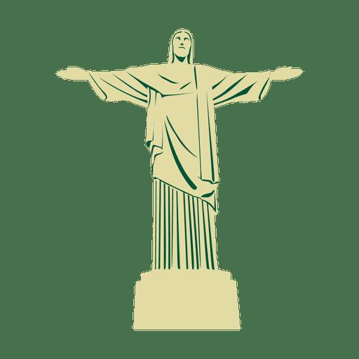 Viaje cristo redentor brasil Transparent PNG