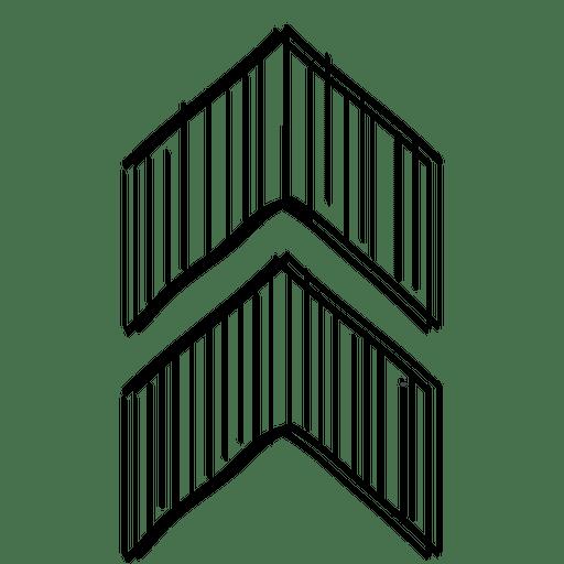 Cursor de seta triangular Transparent PNG