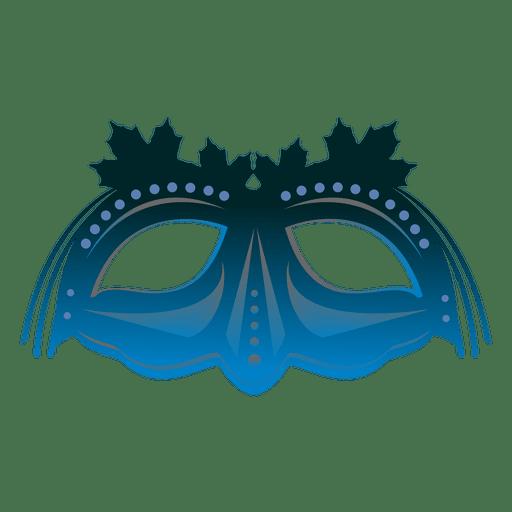 Türkis Karneval Maske Transparent PNG
