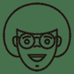 Velma gafas felices