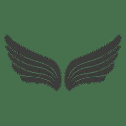 Alas de phoenix ancho
