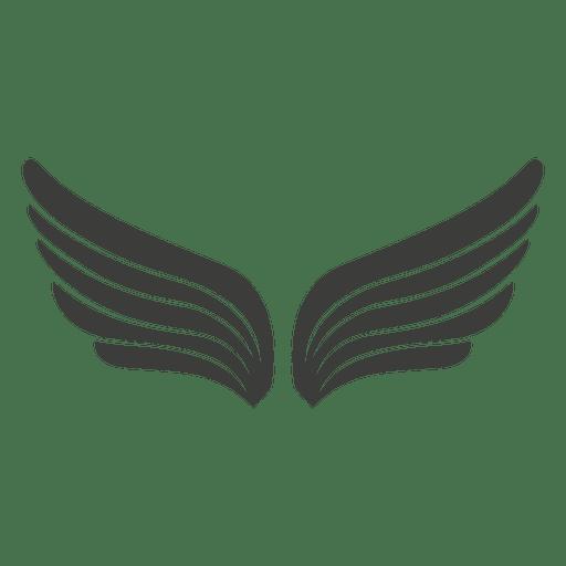 Wide phoenix wings Transparent PNG